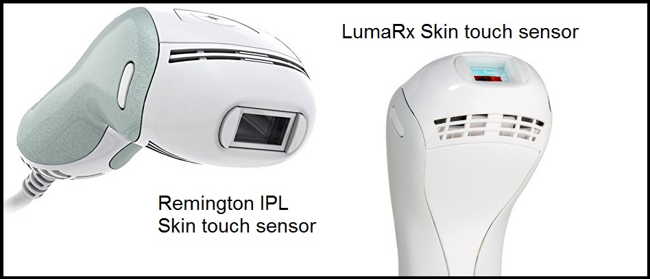 LumaRX hair rmover vs Remington IPL Pro Ilight