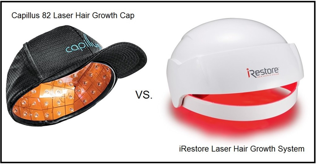 Capillus 82 Laser Hair Growth Cap Vs iRestore Laser System