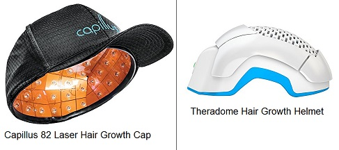 Capillus vs Theradome Hair Growth Helmet Laser