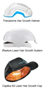 Laser hair regrowth caps system for female hair loss