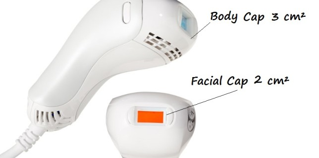 LumaRX Body and facial IPL cap