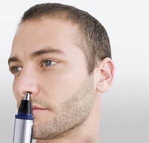 Nose hair shaver