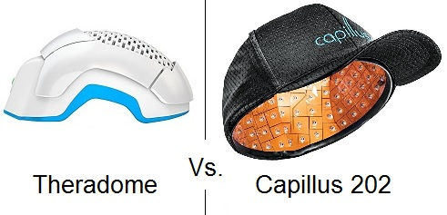 Theradome vs Capillus 202 laser
