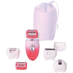 Wet and dry epilator