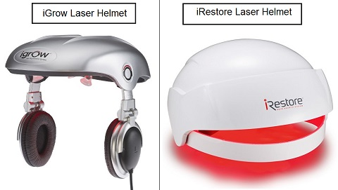 iGrow vs iRestore Laser LED Light Therapy