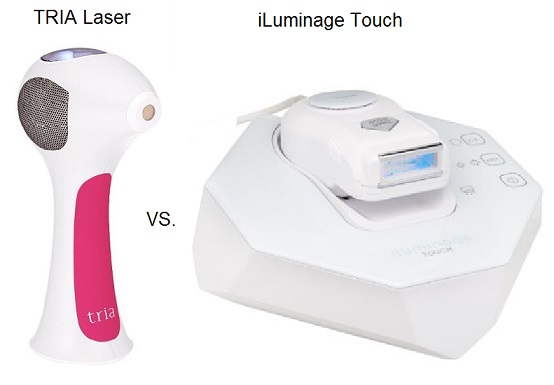 iluminage touch vs tria laser