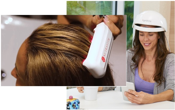 laser hair growth comb or laser hat for women