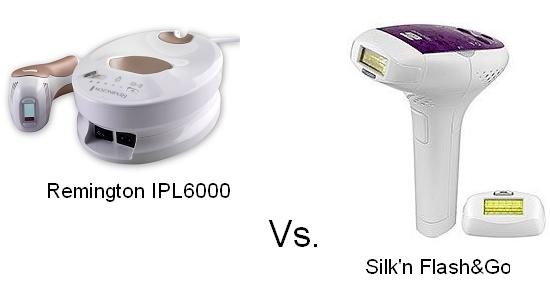 Silk'n Flash & Go Vs. Remington IPL6000 Comparison